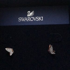 96bce5d97 Swarovski Jewelry - Swarovski Lilia Fig Earrings (Rose Gold)